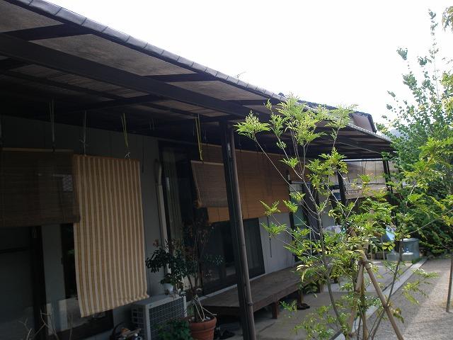 シェードフェンス&K邸庭 川原造園2
